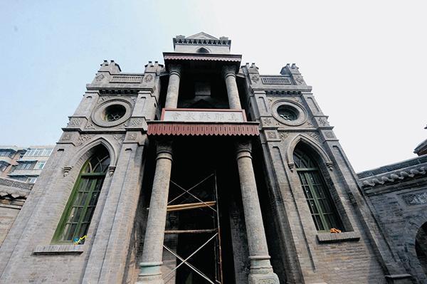 省城两处历史古迹修缮工程完工,静等验收后向公众开放-省城两处古图片